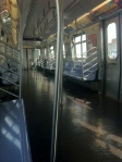 Empty Coney Island Subway